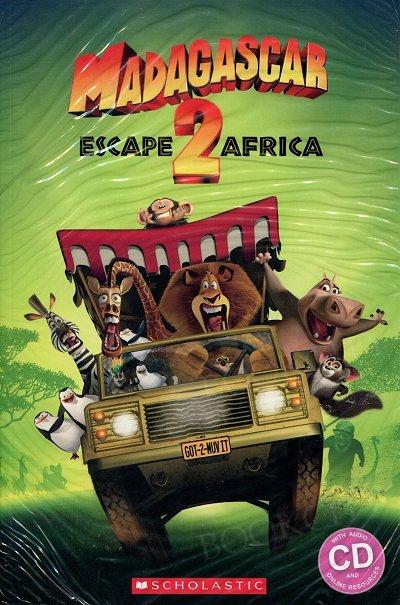 Madagascar: Escape to Africa (Poziom 2) Reader + Audio CD