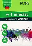 Niemiecki w 1 miesiąc Megapakiet Książka+CD
