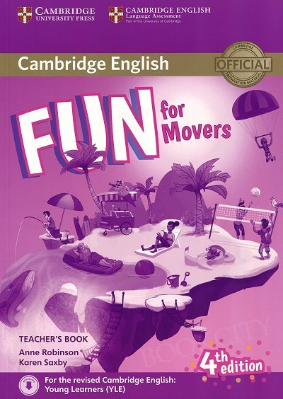 Fun for Movers (4th edition) Teacher's Book + Downloadable Audio
