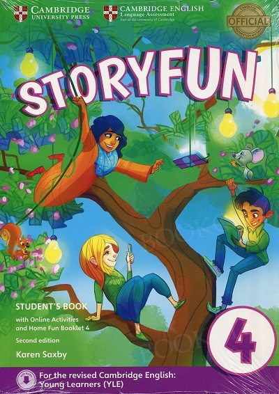Storyfun 4 Movers Student's Book with Online Activities and Home Fun Booklet