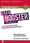 Cambridge English Exam Booster for Preliminary and Preliminary for Schools Book with Answer Key with Audio