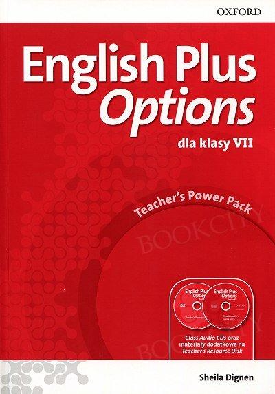 English Plus Options klasa 7 Teacher's Power Pack