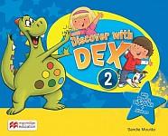 Discover with Dex 2 Książeczka do nauki czytania i pisania
