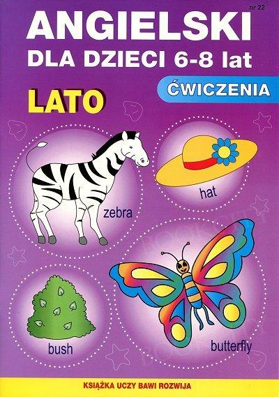 Angielski dla dzieci 6-8 lat Ćwiczenia Lato Zeszyt 22