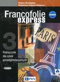 Francofolie express 3 Nowa edycja podręcznik