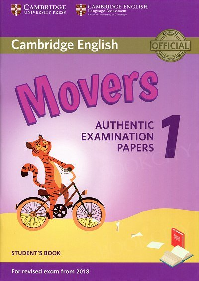 Cambridge English Movers 1 (2017) Student's Book Authentic Examination Papers
