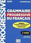 Grammaire progressive Niveau Intermédiaire 4e édition Podręcznik + CD