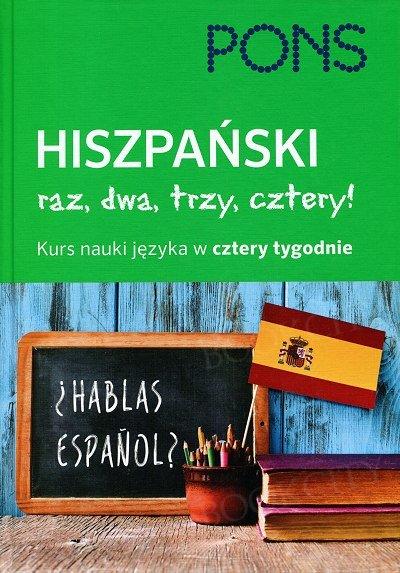 Hiszpański raz dwa trzy cztery - hiszpański w 4 tygodnie Książka + CD