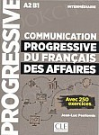 Communication progressive du francais des affaires intermediaire Książka
