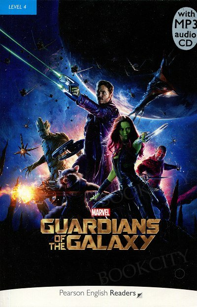 Marvel's Guardians of the Galaxy Book plus mp3 CD