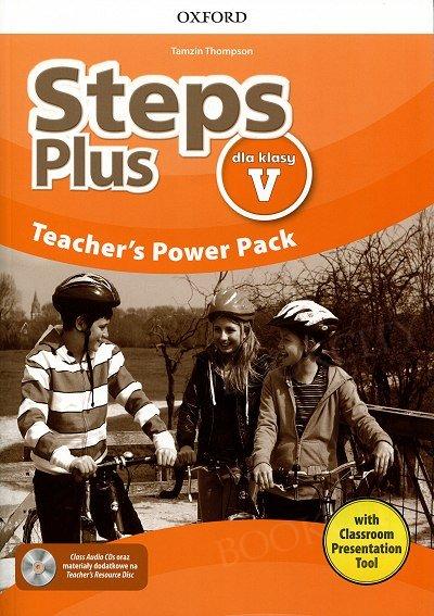 Steps Plus dla klasy 5 Teacher's Power Pack z kodem dostępu do Classroom Presentation Tool