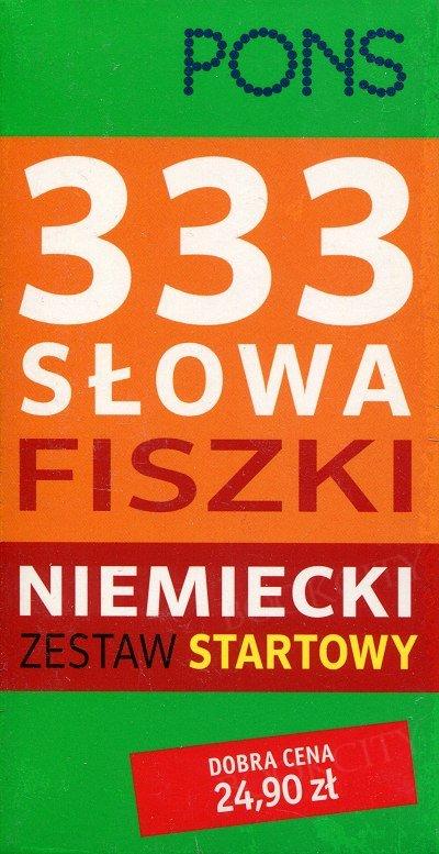 333 Słowa Fiszki Niemiecki Zestaw startowy