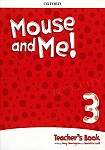 Mouse and Me! 3 Teacher's Book with CD and online code