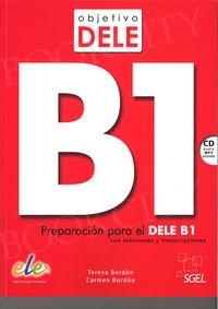 Objetivo DELE B1 Książka + CD