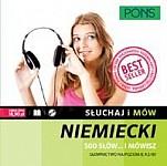 Słuchaj i mów Niemiecki 500 słów 500 słów... i mówisz + CD Słownictwo na poziomie A2/B1
