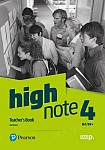 High Note 4 Teacher's Book plus płyty audio, DVD-ROM i kod dostępu do Digital Resources