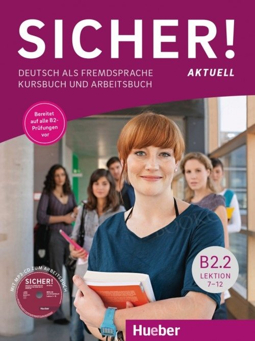 Sicher! Aktuell B2/2 Podręcznik + zeszyt ćwiczeń z płytą MP3-CD