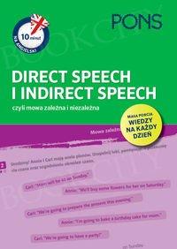 10 minut na angielski PONS Direct Speech i Indirect Speech, czyli mowa zależna i niezależna