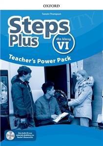 Steps Plus dla klasy 6 Teacher's Power Pack z kodem dostępu do Classroom Presentation Tool