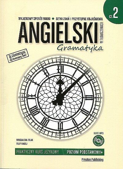 Angielski w tłumaczeniach. Gramatyka 2 Książka + CD mp3