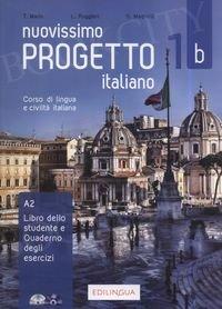 Nuovissimo Progetto italiano 1B Podręcznik + ćwiczenia + CD + DVD