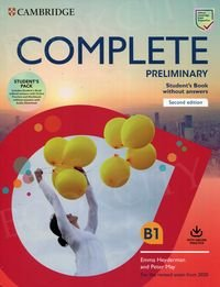 Complete Preliminary (2nd edition) Self Study Pack (SB without Answers with Online Practice and WB without Answers with Audio Download and Class Audio)