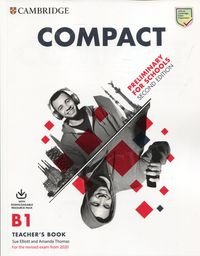 Compact Preliminary for Schools B1 (2nd edition 2019) Teacher's Book