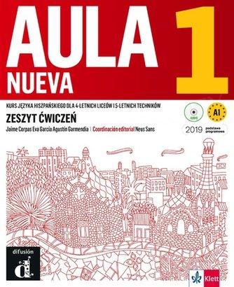 Aula Nueva 1 (szkoły ponadpodstawowe) Zeszyt ćwiczeń + CD