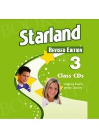 Starland 3 Revised Edition Class Audio CDs (set of 3)