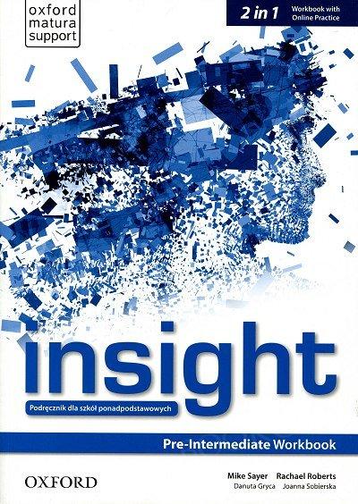 Insight Pre-Intermediate Workbook with Online Practice (obecna + nowa podstawa programowa 2019)