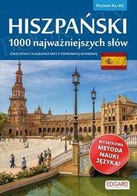 Hiszpański 1000 najważniejszych słów Książka + mp3 online
