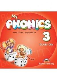 My Phonics 3 Long Vowels Class Audio CDs (set of 2)