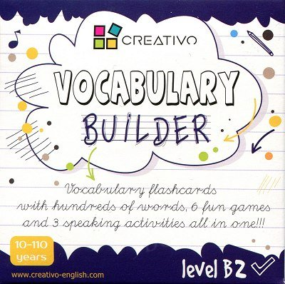 Vocabulary builder Level B2 Karty językowe