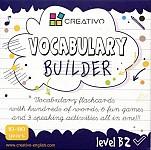 Vocabulary builder Level B2 Karty językowe