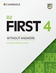 Cambridge English First 4 FCE (2020) Student's Book without answers