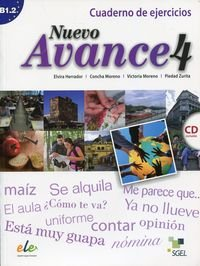 Nuevo Avance 4 Ćwiczenia + CD