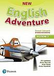New English Adventure 2 Zeszyt ćwiczeń wydanie rozszerzone plus DVD