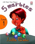 5 Marbles Book with CD