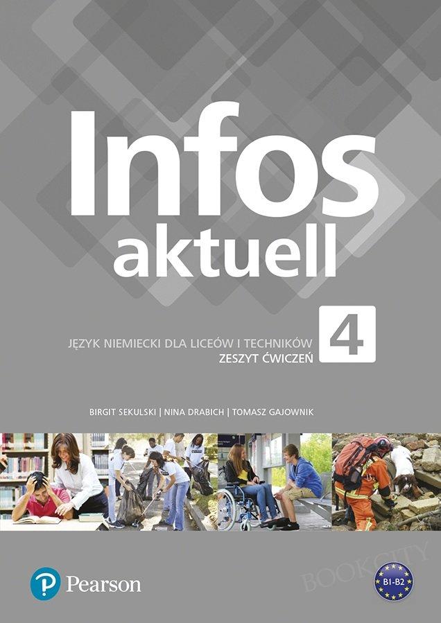 Infos aktuell 4 Zeszyt ćwiczeń + kod (Interaktywny zeszyt ćwiczeń)