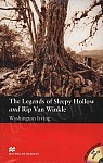 The Legends of Sleepy Hollow and Rip Van Winkle, The (+CD) Book and CD