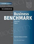 Business Benchmark Advanced Teacher's Resource Book BEC and BULATS edition