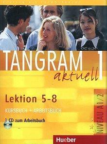 Tangram aktuell 1 L.5-8 Kurs und Arbeitsbuch mit CD zum AB