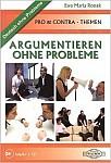Argumentieren Ohne Probleme. Pro & Contra Themen Książka + CD