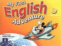 My First English Adventure 1 Students' Book plus DVD