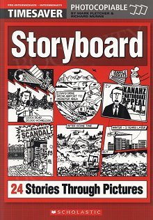 Storyboard - 24 Interactive Stories Through Pictures + audio CD