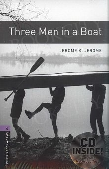 Three Men in a Boat Book and MP3 Pack