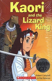 Kaori and the Lizard King Book and CD