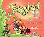 Fairyland 4 Class Audio CDs (Set of 4)
