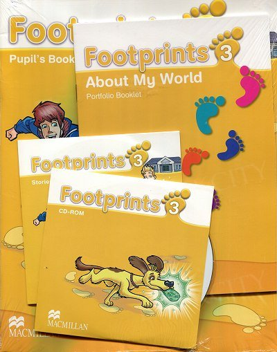Footprints 3 Pupil's Book + CD-ROM