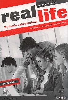 Real Life Pre-Intermediate - wydanie uaktualnione Workbook plus Audio CD
